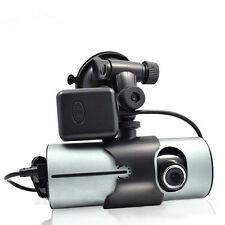 HD Vehicle 1080P Car DVR Camera Video Recorder Dash Cam G-Sensor GPS Dual Lens##
