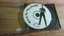 CD Pop Jermaine Jackson - Word To The Badd (1 Song) Promo LA FACE / US disc only