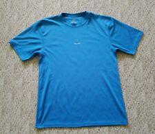 Prana Men's Short Sleeve Athletic Yoga Workout Shirt Color Blue Size Xl Hike Run