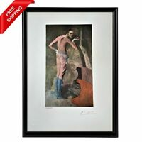 Picasso Original Print, Hand Signed with Certificate of Authenticity (COA)