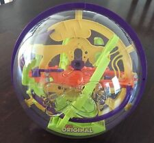 The Original Perplexus 3D Maze Brain Teaser Puzzle Ball Labyrinth Globe Game Toy