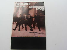 THE BEATLES U.K.  1995   BABY ITS YOU   SHOP COUNTER PROMO DISPLAY