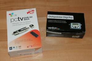 PCtv WINTV, DVB-S2 USB Stick und Sat finder