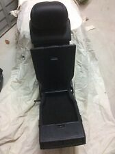 MERCEDES C-CLASS 2014-18 W205 AMG REAR SEAT MIDDLE PANEL BLACK LEATHER CUPHOLDER