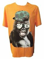 FUNKY NEW MENS EX STORE ORANGE G-RILLA DESIGN RETRO T-SHIRT ~SZ L-3XL GREAT GIFT