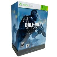 Call of Duty Ghosts Hardened Edition Xbox 360 COMPLETE Steelbook Tested Works