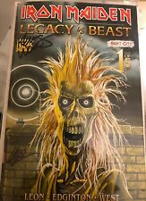 SDCC 2019 IRON MAIDEN  Signed Comic Night City #1  Llexi Leon & Kevin West