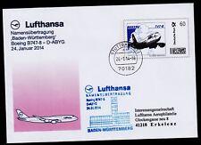 """Flugzeugtaufe Boeing B747-8""""Baden-Württemberg"""" 24.01.2014 !!"""