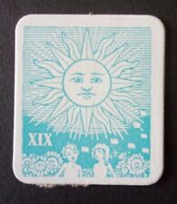 1967 Transogram Ka-Bala Fortune Teller Game (TAROT CARD XIX ONLY)