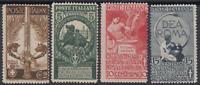 Italy Regno - 1911 Unità d'Italia - Sassone n.92-95 cv 480$ MNH** n.94 variety