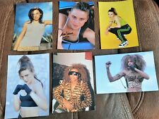 More details for 20 x spice girls photographs / cards 90's girl power