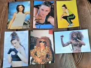 20 x SPICE GIRLS PHOTOGRAPHS / CARDS 90'S GIRL POWER