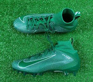 SZ 10 | Nike Vapor Untouchable Pro 3 Football Cleats Green White | 917165-300