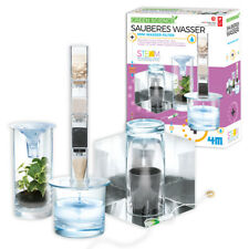 Sauberes Wasser/Filter Experimentierspiel Chemiebaukasten Experimentierkasten