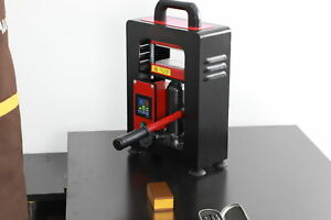 "5T Hydraulic Rosin Press Machine | Dual Heat 3"" x 5"" for Rosin extraction oil"