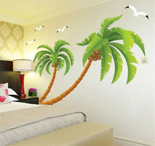 Coconut palm tree Home bedroom Decor Removable Wall Sticker Decal Decoration