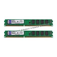 Kingston 8GB 2X 4GB DDR3 PC3-10600U 2RX8 1333MHz 240PIN Memory RAM DIMM Desktop