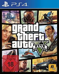 Grand Theft Auto V (Sony PlayStation 4, 2014, DVD-Box)