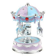 Merry-Go-Round Music Box Christmas Birthday Gift Carousel Music Box BU GFY