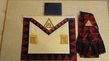 Masonic 'Royal Arch Regalia' Companion Apron & Sash.Toye Kenning & Spencer Vgc
