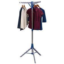 Multi Portable Folding Standing Tier Garment Clothes Shirt Hanger Dryer Airer UK