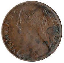 1860 ONE PENNY OF QUEEN VICTORIA /  HIGH GRADE /     #JAN73