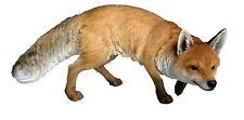 Prowling Fox Realistic Ornament Life-like Animal Statue Garden Landscape Decor