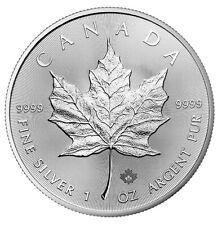 2020 Maple Leaf 1oz .9999 Silver Bullion Coin - Royal Canadian Mint