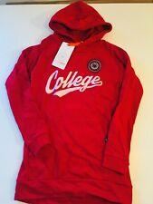 Lemon Beret - Hoodie Long Jumper Sweatshirt Long Red -new - Size 152 1440m