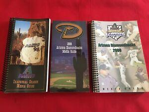 MLB Arizona Diamondbacks media guide / You pick 'em / Box 2021 / Bell / Johnson
