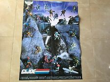 GIJOE 1989 Poster catalogue checklist hasbro benelux german tigerforce
