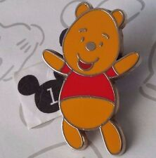 Winnie the Pooh Flexible Characters Standing Baby Arms Raised Disney Pin 61366