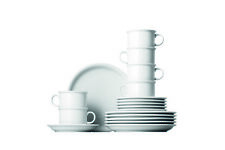 THOMAS Kaffeeservice TREND Weiß 18-teilig - Kaffee-Set, Geschirrset, Weiss 18735