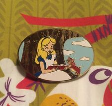 Disney Fantasy Pin With Alice In Wonderland  Reading Limited Edition 75