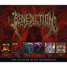Benediction - The Complete Nuclear Blast Recordings 6 x CD - SEALED NEW Box Set