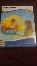 Poolmaster Duck Baby Float Rider Learn to Swim 81547 Canopy Pre Swimmer New