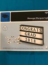 Teacher Supplies- Message Marquee Light- New!