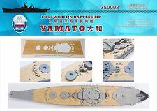Shipyard 350002 1/350 Wood Deck IJN Yamato for Tamiya 78014/78030