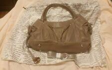 barr + barr satchel purse Beige (Lt Brown) with dust bag