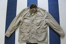 Men's MARC NEW YORK Andrew Marc Khaki Cargo Pocket Bomber Jacket Size XL