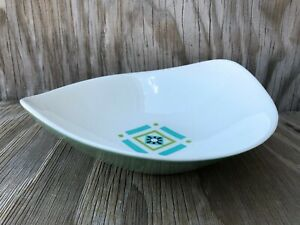 Bombay Green Ben Seibel Iroquois Large Serving Bowl True China Made In U.S.A.