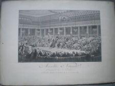 Abolition des Privilèges - Nuit du 4 Août 1789  - Tirage Fin XIX èS.