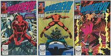 Daredevil 272 273 279 Marvel Comics 1989 1990 John Romita Jr Al Williamson