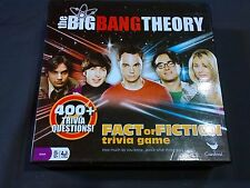 The Big Bang Theory fact or fiction trivia game by cardinal