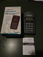 Radio Shack Ultrasonic Distance Measurer 63 1005 Area Distance Amp Memory 9v Bat
