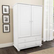 New Modern White Short Wardrobe Bedroom Furniture Range 2