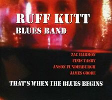 Ruff Kutt Blues Band - That's When the Blues Begins [New CD] Digipack Packaging
