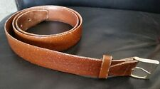 Rare antique genuine whale leather hide belt made in Australia by Lancer sz 36