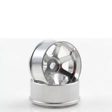 Cerchi Lega 1:24 TE37 4.5 mm Offset Argento 2 Pz Mini-z AWD Kyosho R246-1454