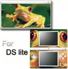 Frog Cute Pets VINYL SKIN STICKER for NINTENDO DS LITE